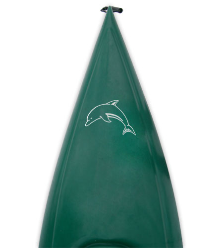 leaping dolphin porpoise Kanuyak Decals and Stickers for Canoes, Kayaks, cars and trucks