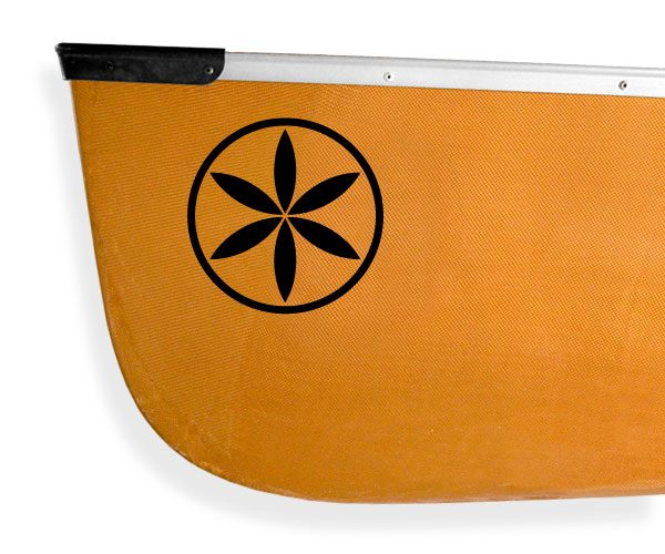 Ojibwa design Kanuyak Decals and Stickers for Canoes, Kayaks, cars and trucks